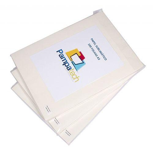 Papel Sublimático A3 para Transfer, 108grs (fundo azul) - 100 folhas