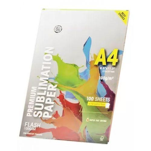 Papel sublimático A4 - Globinho - 110 folhas