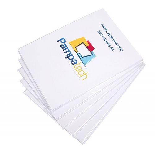 Papel Sublimático A4 para Transfer, FUNDO ROSA 108gr - 1.000 folhas
