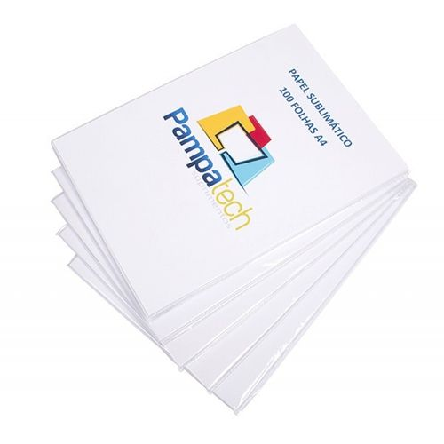 Papel Sublimático A4 Premium para Transfer, 100gr - 1.000 folhas