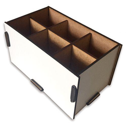 Porta objetos MDF para sublimar 6 cavidades