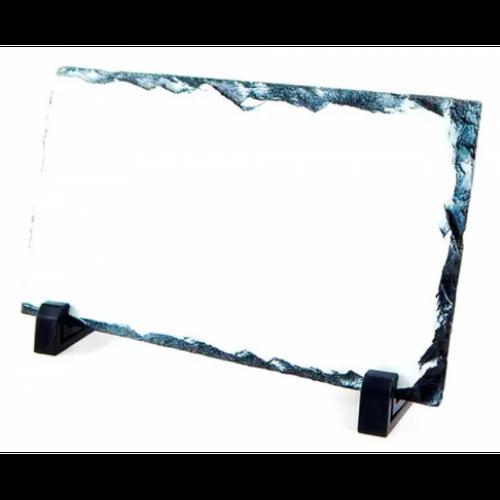 Porta Retrato em Pedra retangular - 12x22
