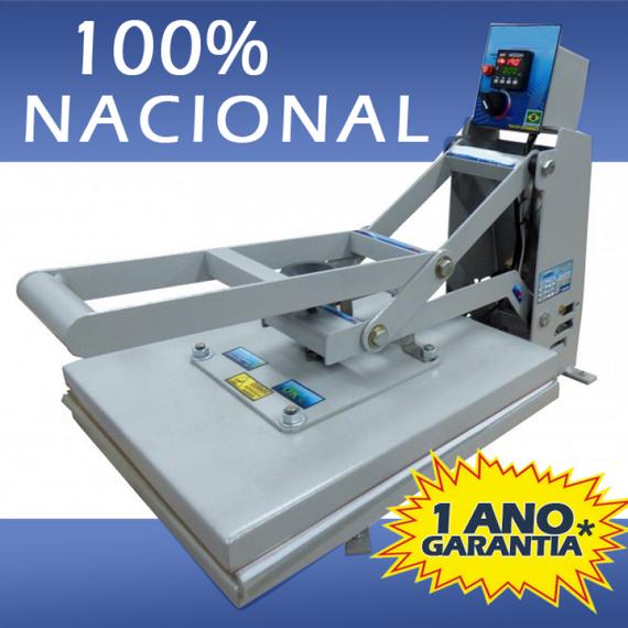 PRENSA PLANA - 100% NACIONAL - 40X35 - LANÇAMENTO