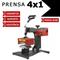 Prensa Térmica 4x1 - Plana, Cilíndrica, Canetas e Boné