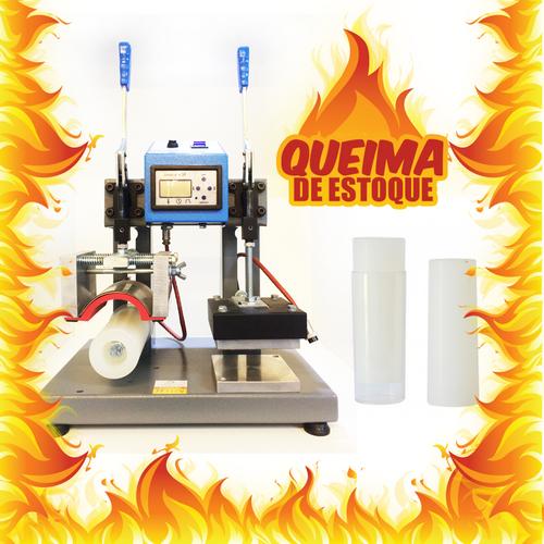 Prensa Térmica Transfer 3 em 1 (long Drink, Canetas, Planos) laser QUEIMA