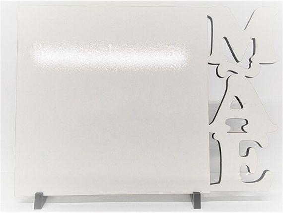 Quadro porta retrato MDF - MÃE 20X28 6MM