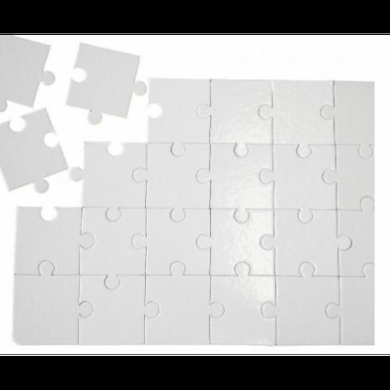 Quebra Cabeças para Sublimar 24 peças - A4