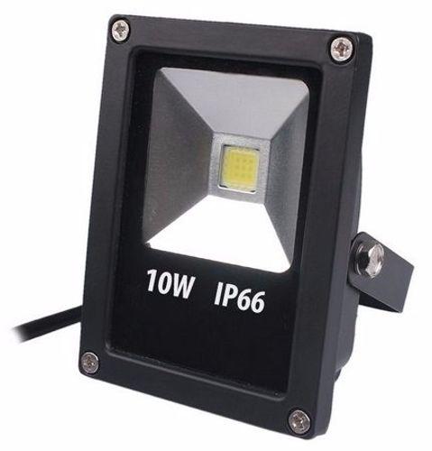 Refletor Holofote LED Slim 10W Branco Frio