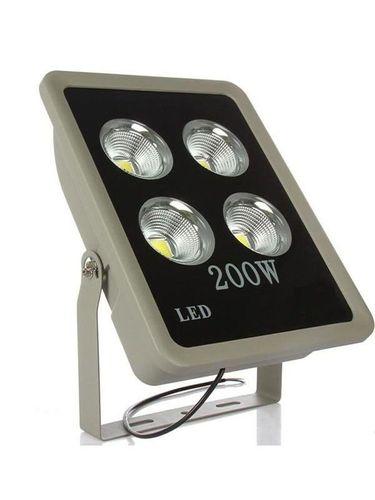 Refletor Holofote LED Slim 200W Branco Frio - MULTIFOCAL