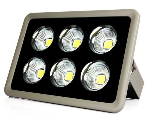 Refletor Holofote LED Slim 300W Branco Frio - MULTIFOCAL