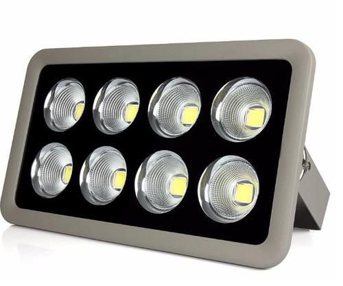 Refletor Holofote LED Slim 400W Branco Frio - MULTIFOCAL