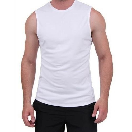 Regata Adulto para Sublimar SEM MANGAS- Tecido Branco