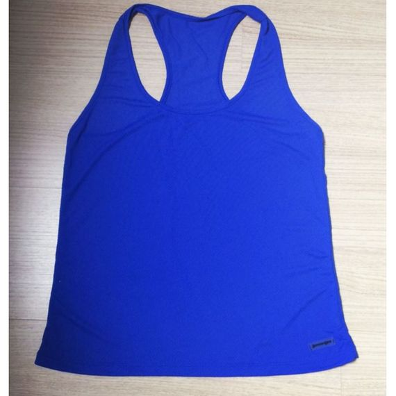 Regata Dry Fit Lisa para Sublimar - AZUL