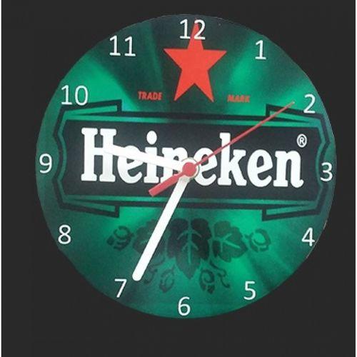 Relógio redondo em MDF 20x20