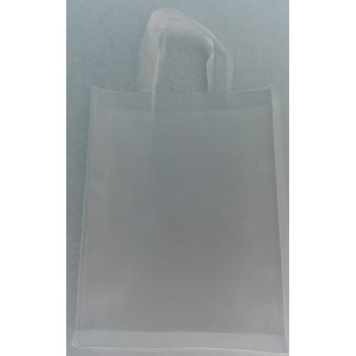 Sacola Ecobag PREMIUM + brilho + resistente branca 30x40