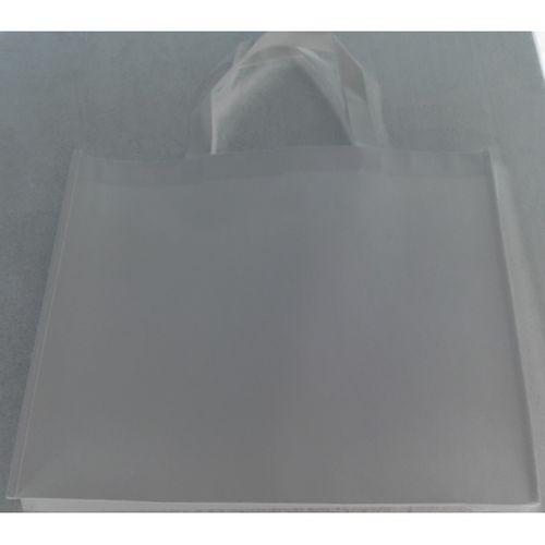 Sacola Ecobag PREMIUM + brilho + resistente branca 43 x 35 x 6