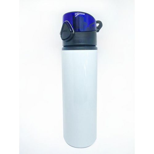 Squeeze de Alumínio Premium, TAMPA TRAVA AZUL - 750mls