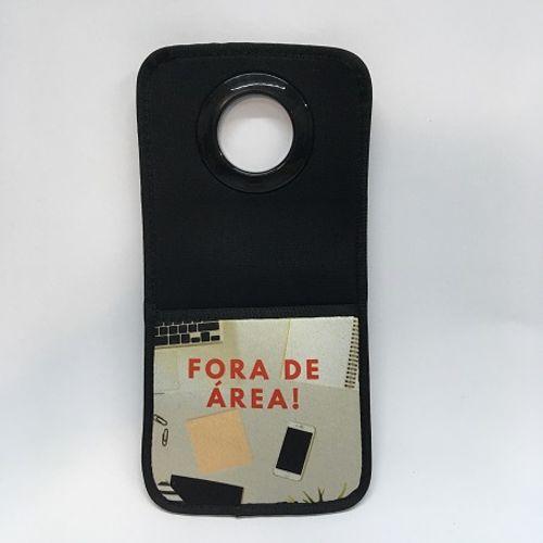 Suporte de celular para carregador - neoprene - Com área para sublimar