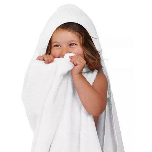 Toalha de banho infantil com capuz