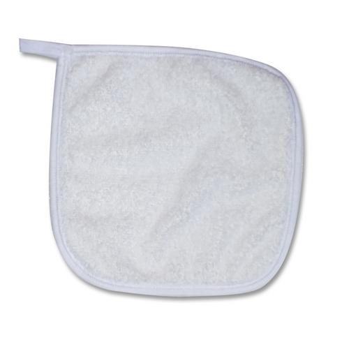 Toalinha de boca - lembrancinha 15x15 - branca