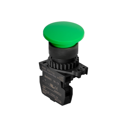 Botão de Comando Cogumelo - 1NA