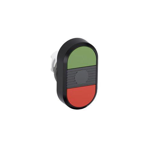 Botão Duplo Não Iluminado - MPD1-21B-11
