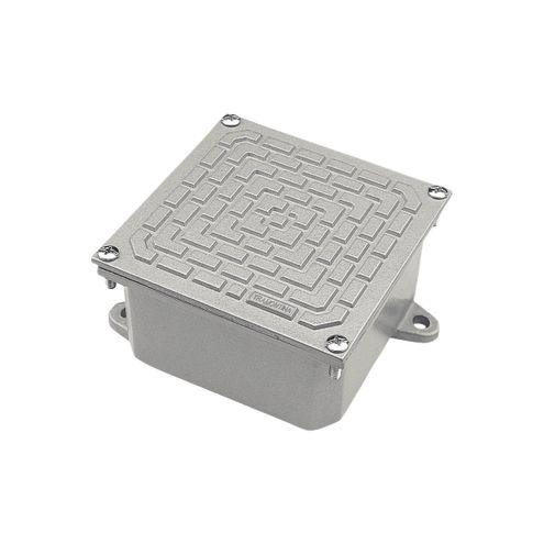 Caixa de Passagem CP-1010 em Alumínio - 100x100x60mm