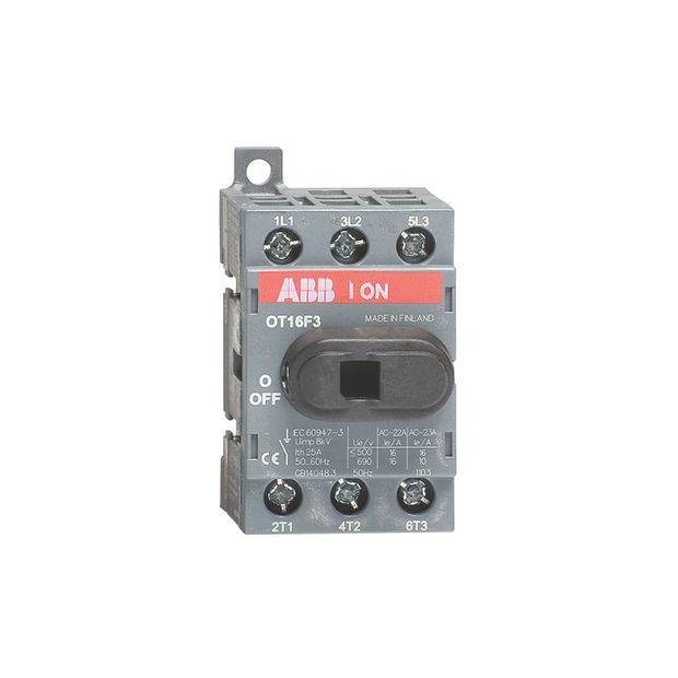 Chave Seccionadora Tripolar 750V 16A - OT16F3