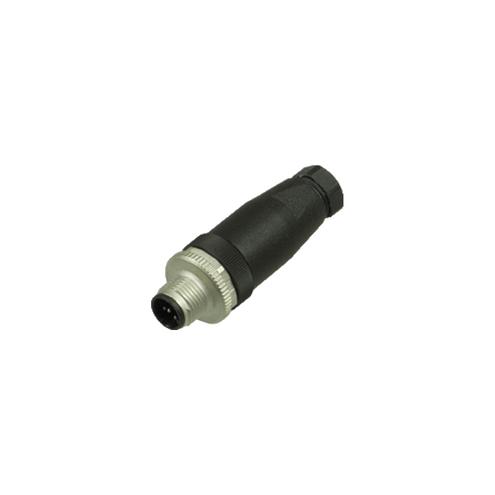 Conector Macho para Montagem M12 / 5 pinos - V15S-G