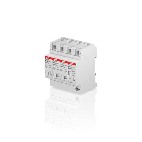 Dispositivo Protetor de Surto Tipo 2 40kA 275V - OVR T2 3N 40-275 P QS