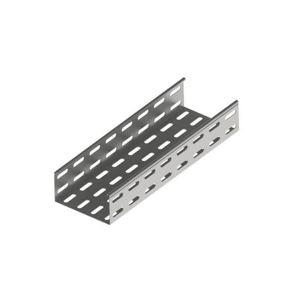 Eletrocalha Estrutural Perfurada 50x50mm - Chapa #24