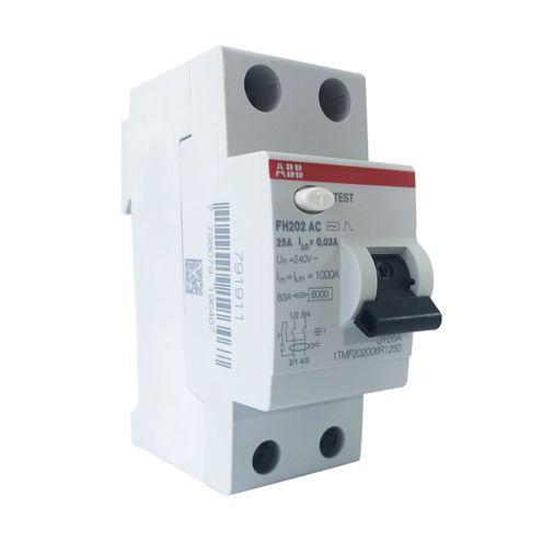 Interruptor Diferencial Residual - FH202 AC-25/0,3