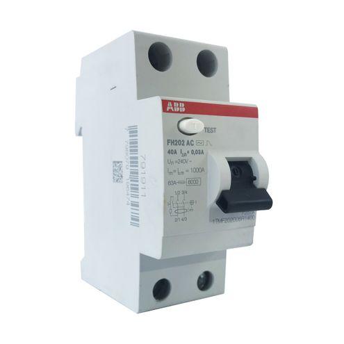 Interruptor Diferencial Residual - FH202 AC-63/0,3