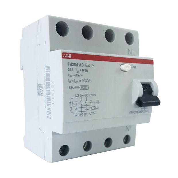 Interruptor Diferencial Residual - FH204 AC-25/0,03