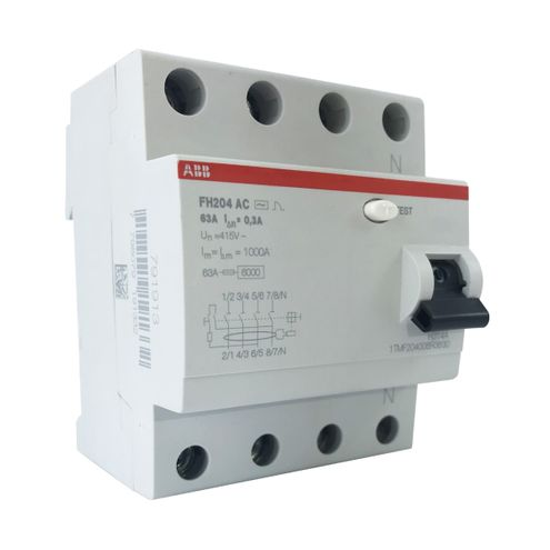 Interruptor Diferencial Residual - FH204 AC-63/0,03
