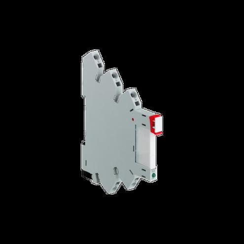 Kit Base + Relé de Interface 1 NAF - 6A 24VCA/CC