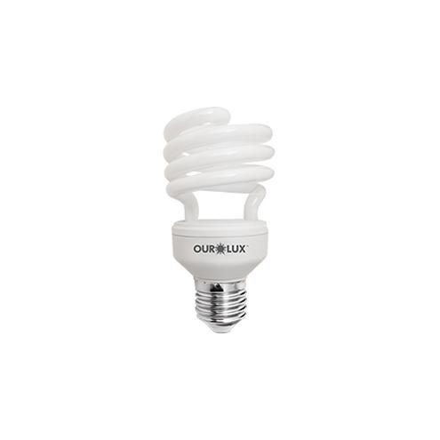 Lâmpada Fluorescente Compacta Espiral - Spiralux 15W