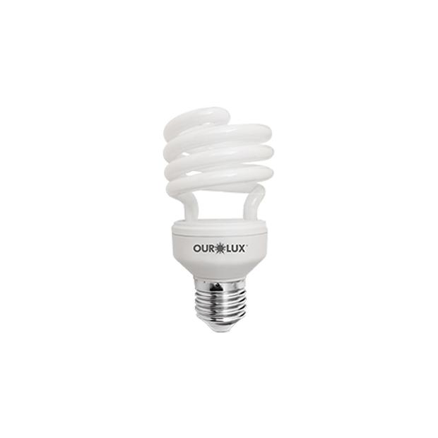 Lâmpada Fluorescente Compacta Espiral - Spiralux 33W