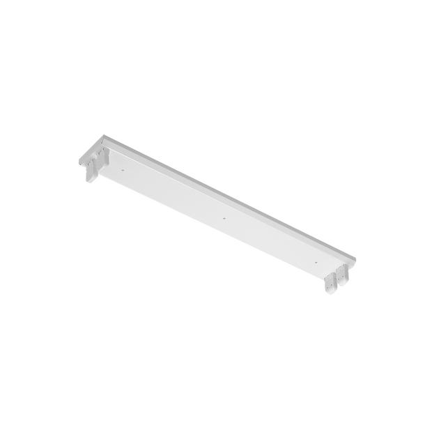 Luminária Slim para Lâmpadas LED - 2x 18W