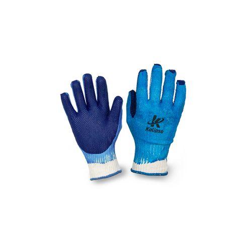 Luva em Tricotada em Algodão e Poliéster - Blue Grip