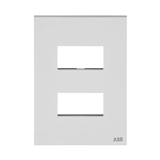 Placa 4x2 - 2 módulos separados