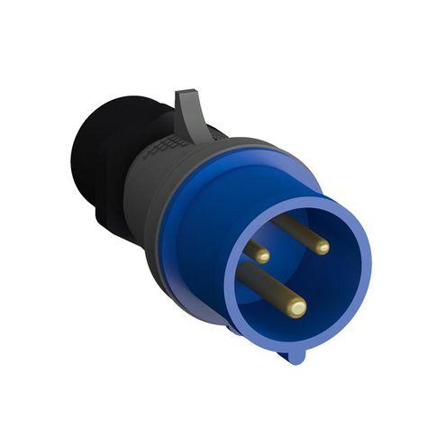 Plugue Industrial 2P+T 16A IP44 - 216BP6