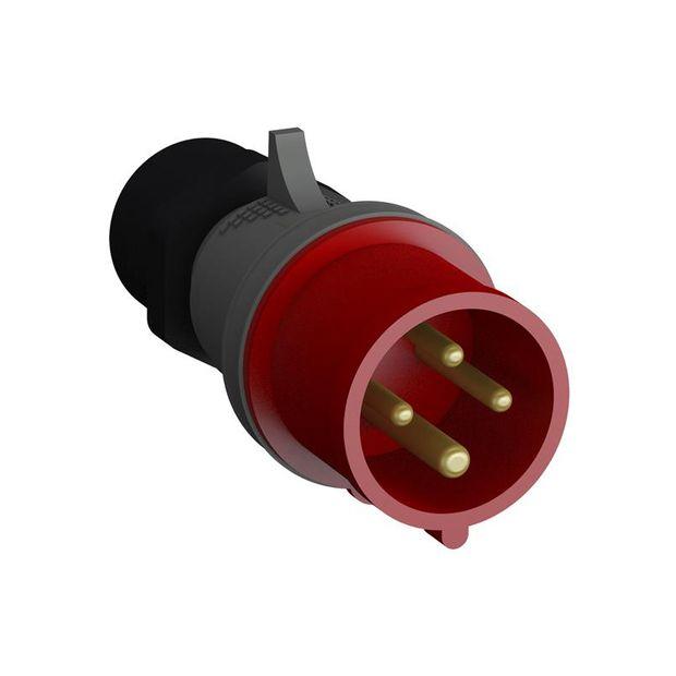 Plugue Industrial 3P+T 16A IP44 - 316BP6