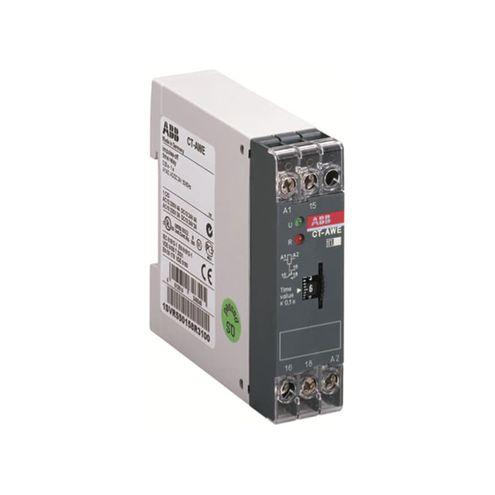 Relé Temporizador com Pulso na Desenergização 0,1...10s 1NAF 24VCA/CC - CT-AWE