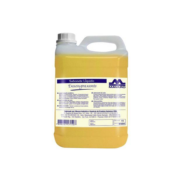 Sabonete Líquido Desengraxante - 5 litros