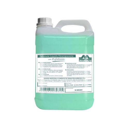 Sabonete Líquido Desengraxante com Esfoliante - 5 Litros