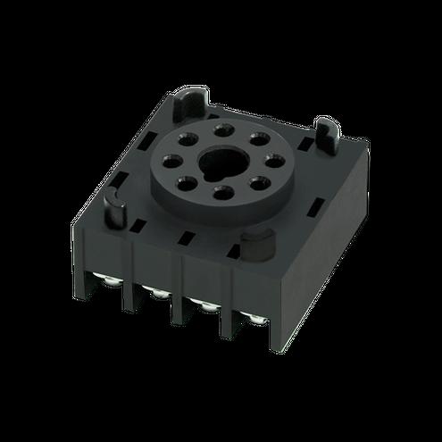 Soquete para Temporizador PG08 - 8 pinos