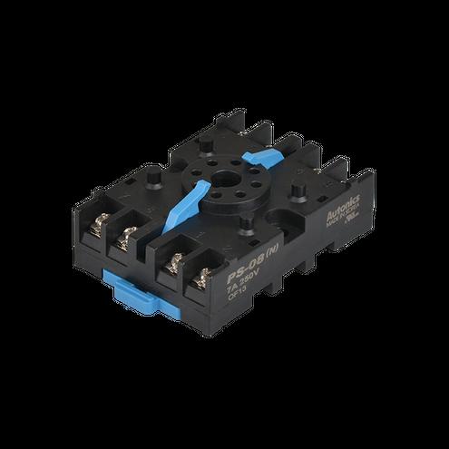 Soquete para Trilho DIN para Temporizador PS-08 - 8 pinos