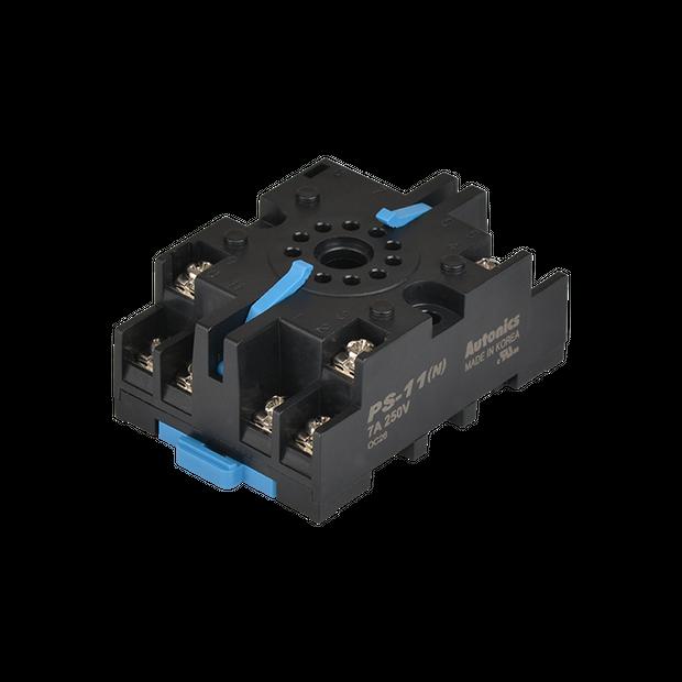 Soquete para Trilho DIN para Temporizador PS-11 - 11 pinos