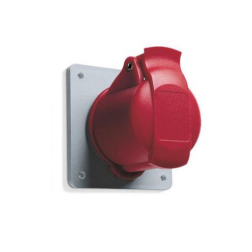 Tomada Industrial de Embutir 3P+T 32A IP44 - 332RU6
